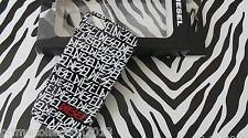 DIESEL Branded iPhone 5 Case Black X01901 PLUTON SNAP Pvc Hard Back Cover BNWT