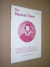 THE MUSICAL TIMES. JULY 1973. EARLY CLASSICAL MUSIC JOURNAL MAGAZINE