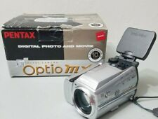 PENTAX Pentax Optio MX 3.2MP Digital Camera - Silver *VERY GOOD W/ BOX*