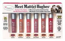 theBalm Meet Matte Hughes Set of 6 Mini Exclusive Liquid Lipsticks *The Balm*