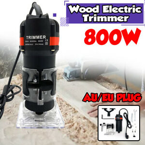 800W Electric Hand Trimmer Palm Router Woodworking Laminate Wood Laminator #!