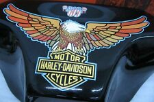 HARLEY DAVIDSON-FLH 1976 LIBERTY EDITION- FAIRING EAGLE WINGS & GAS TANK DECALS