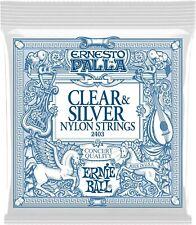 Ernie Ball Classical Guitar Strings Clear and Silver Medium Tension