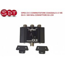 OPEK CX-5 COMMUTATORE COASSIALE A 3 VIE DA 0~500 MHz CONNETTORI SO-239