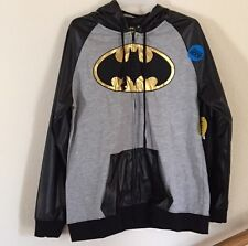 XXLarge NWT WOMENS DC COMICS LICENSED Batgirl / Batman ZIP UP HOODIE COSTUME