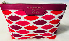 YOUNG HOLLYWOOD 💋 ESTE LAUDER MAKEUP BAG WHAT ARE LIPS, AFTER ALL, BUT TO KISS