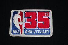 Original 1980-81 NBA 35th Anniversary Patch-Jumbo size-NM