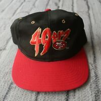 Vintage 90s San Francisco 49ers Snapback Hat Cap Niners