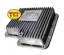 TCI Ford C6 Cast Aluminum Transmission Pan 2 Quarts Extra Capacity Deep