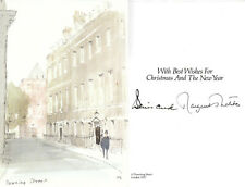 More details for (74972) margaret thatcher signed downing street christmas card