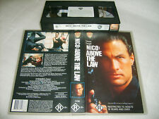 *NICO:ABOVE THE LAW* Steven Seagal R rated Cult Action Movie