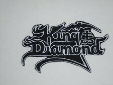 KING DIAMOND IRON ON EMBROIDERED PATCH