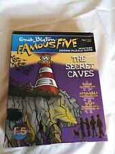 """Enid Blyton Famous Five Mystery Jigsaw Puzzle Game """"The Secret Caves"""" 250 Piece"""