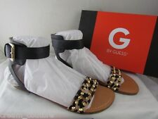 NIB G by Guess Keeper Leopard Print Studded Ankle Strap Sandals Size 9 MSRP $49