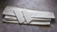 73-77 grand prix visors and headliner white perforated
