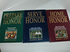 3 Books: Serve With Honor- Home With Honor- Prepare with Honor Bott Mormon LDS