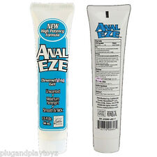 Anal Ease Desensitizing Cream Max Strength Numbing Comfort Butt Sex Relax Lube