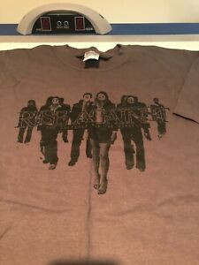 Rise Against - The Sufferer & The Witness shirt size Large punk rock