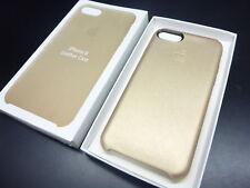 neu Apple iPhone 8 Leder Case ORIGINAL Gold MQHT2FE/A neu und OVP Leather Hülle