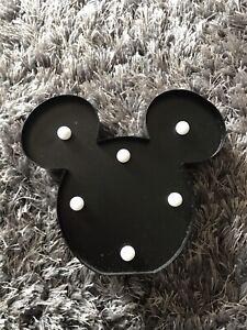 Disney Mickey Mouse Primark LED Light