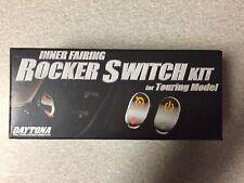 Black Backlit Rocker Switch Kit 2004 to 2013 Harley Electra Glide 70278-04 NIB