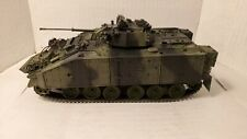 Pro Built British Warrior MCV Mechanized Combat Vehicle 1/35 scale Model