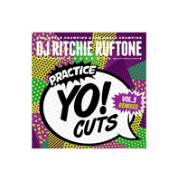 "DJ RITCHIE RUFTONE - Practice Yo! Cuts Vol 3 Remixed - Vinyl (7"") - Teal Green"