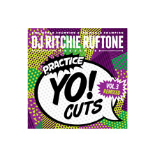 "DJ RITCHIE RUFTONE - Practice Yo! Cuts Vol 3 Remixed - Vinyl (7"") - Teal Green"