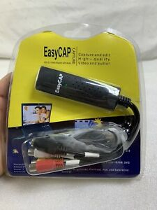 NIP Easy CAP USB 2.0 Video Adapter with Audio Capture & Edit Factory Sealed