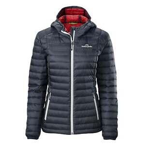 NEW Kathmandu Heli Womens Hooded Down Puffer 600 Fill Lightweight Winter Jacket