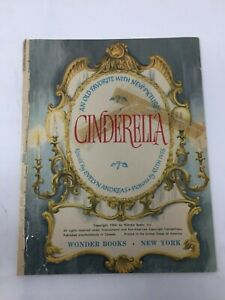 Cinderella retold by Evelyn Andreas, illust. Ruth Ives,1954 Grosset. Lithograph