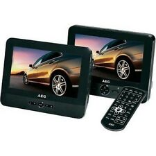AEG 4551 Kopfstützen DVD-Player 400451 mit Akku 2x Ohrhörer 2x Monitore OVP+NEU!