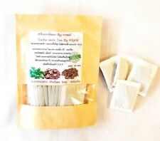 THai Herbal Sacha Inchi Leaves Tea 100% Organic Natural For Healthy Drink 25 Bag