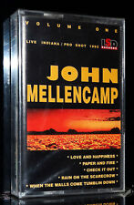 JOHN MELLENCAMP - Live Vol.1 1992 JACK AND DIANE audio MC tape Kassette cassette