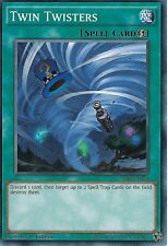YU-GI-OH CARD: TWIN TWISTERS - SR04-EN024 - 1ST EDITION