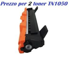 CARTUCCIA PER BROTHER HL-1110 HL-1112 HL-1201 HL-1210W SET DA 2 TONER TN1050
