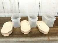 Tupperware Modular Mate Spice Containers 1843 with Lids Set of 3