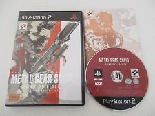 METAL GEAR SOLID 2 SONS OF LIBERTY - SONY PLAYSTATION 2 - JEU PS2 PAL Fr COMPLET