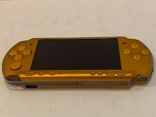 Sony PSP 3000 Orange with AC Adapter  ***SHIP FROM U.S.A.***