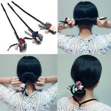 Women Flower Magic Bun Maker Girl Donut Device Quick Messy Hair Bands DIY Tools