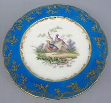 More details for excellent signed hand painted sevres porcelain plate by noel guillaume c1800