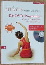 Pilates allein zu Hause * Barbara Mayr Ueberreuter 2007 BUCH + DVD