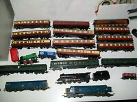 Hornby oo gauge job lot with track and controller