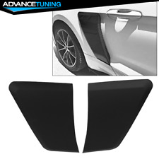 Fits 15 18 Ford Mustang Gt Style Rear Side Fender Door Scoops Pp Fits Mustang