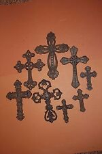 (8) Old World Christian Cross Wall Decor, Christian Home Decor ,Leon Collection