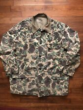 New listing Vintage Vtg Sears,Roebuck Duck Camo Camouflage Hunting Jacket Game Pouch USA