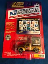 Johnny Lightning USPS Truck & Stamp  Endangered Species Series 1940 Ford