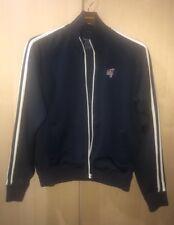 Abercrombie & Fitch Men's Muscle Cardigan Sweater Jacket Zipper Navy Blue Sz S