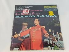 "MARIO LANZA The Student Prince 7"" Compact 33 Double RCA LPC-117 -New & Free Ship"