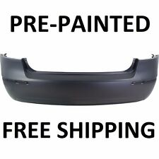 New Painted to Match Rear Bumper Cover Replacement for 2009 2010 Hyundai Sonata